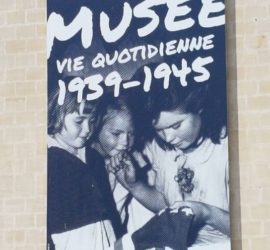 Au Mémorial des Civils dans la Guerre à Falaise