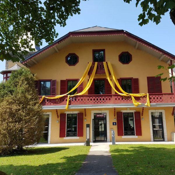 A la Villa du Pays d'art et d'histoire des Pyrénées béarnaises d'Oloron Sainte Marie