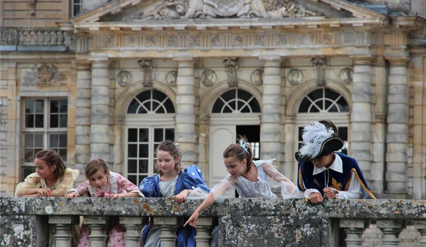 Enfants (C) Vaux-le-Vicomte