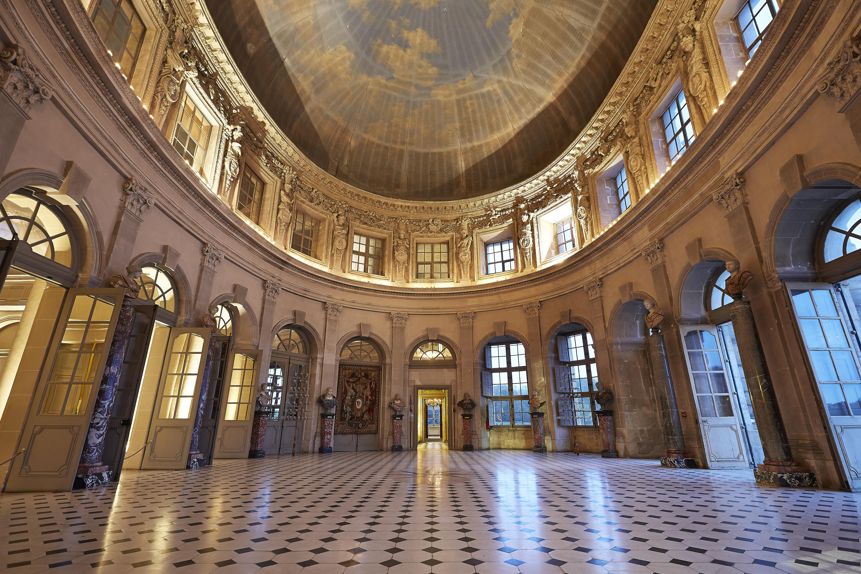 Coloriage Chateau Vaux Le Vicomte.Une Visite Royale En Famille Au Chateau De Vaux Le Vicomte