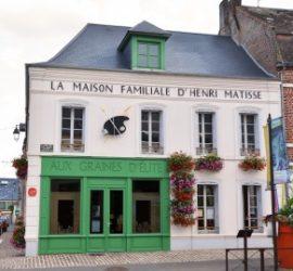 La Maison familiale d'Henri Matisse : découvrir l'enfance du peintre en Picardie.