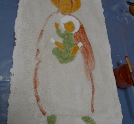 Peindre comme Giotto à Saint-Savin