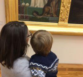 Aller au musée avec un enfant de 18 mois
