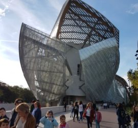 En visite à la Fondation Louis Vuitton