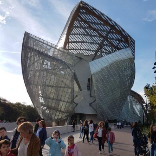 En visite à la Fondation Louis Vuitton