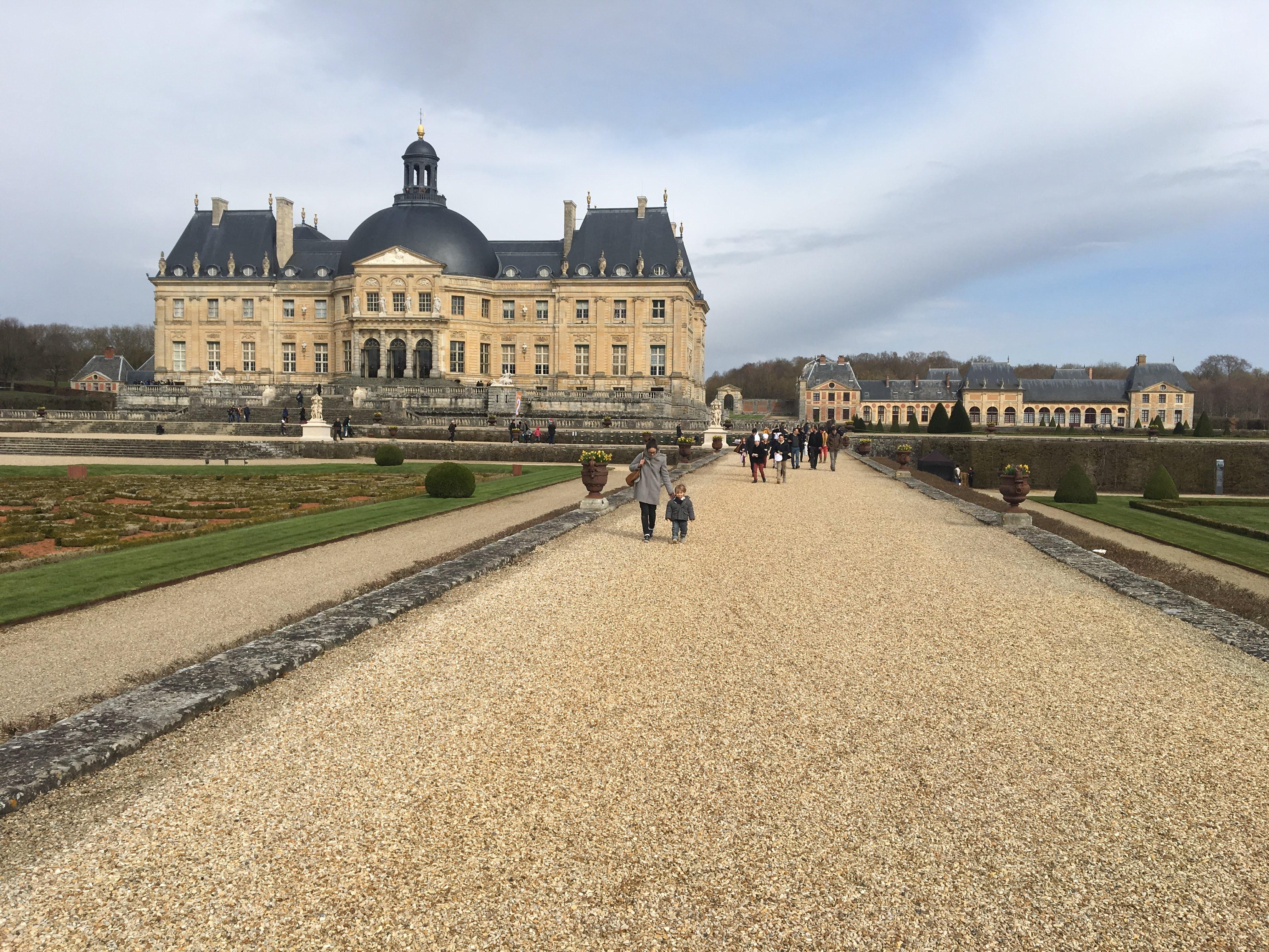 Coloriage Chateau Vaux Le Vicomte.Chateau De Vaux Le Vicomte Mom Art