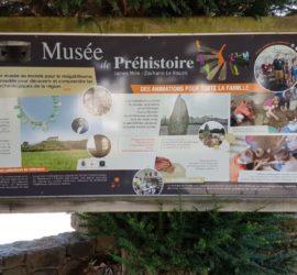 Au Musée de la Préhistoire de Carnac