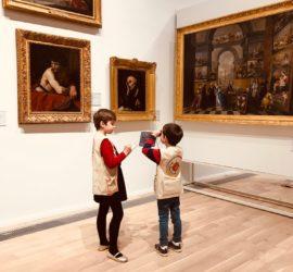 Les petits Z'amateurs d'art du musée Girodet