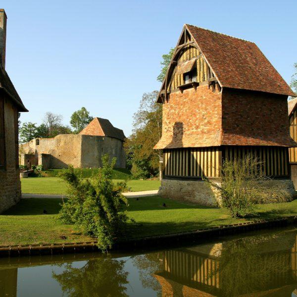 En visite au Château de Crèvecœur