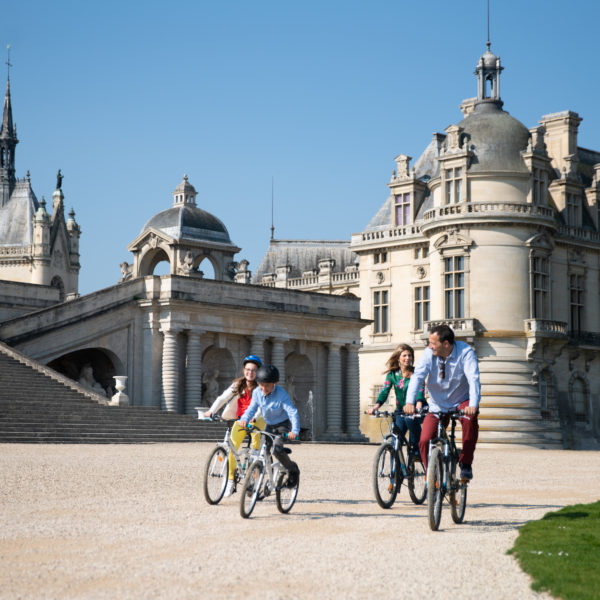 Le Domaine de Chantilly en famille