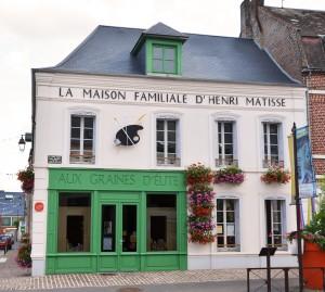 Façade de la Maison Matisse