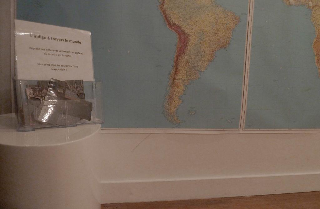 L'indigo à travers le monde : replacer les oeuvres de l'exposition
