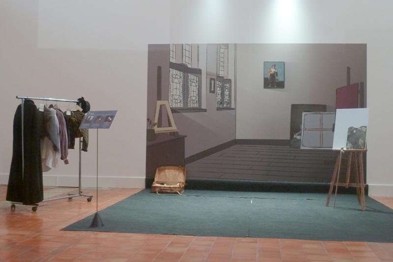 L'atelier de Goya, prétexte à l'essayage !
